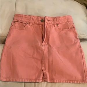 Pink Billabong skirt